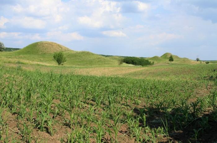 """Долина """"Сто холмов"""" большое скопление древних курганов (+Фото)"""