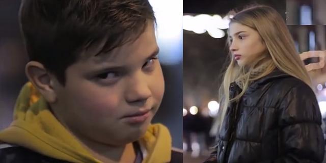 Мальчиков попросили ударить девочку и они сделали вот что... (Видео)