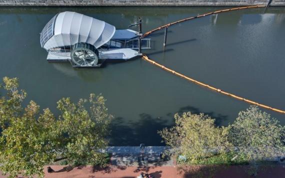 Пожиратель плавающего мусора в Балтиморе сожрал 1 млн тонн мусора (+Видео)