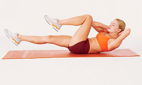 9 упражнений для сжигания жира на животе за 14 дней (+Фото)