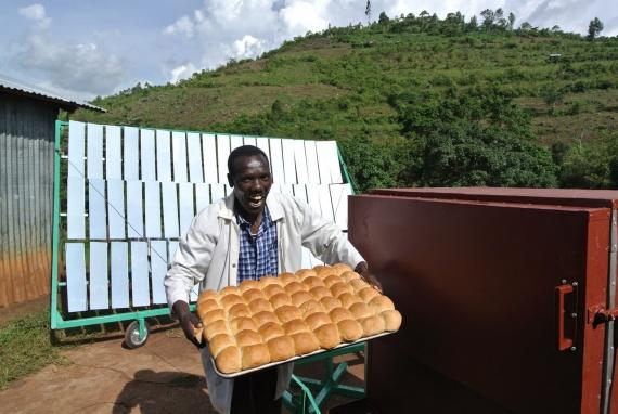 Хлебопечка, которая работает от солнечной энергии