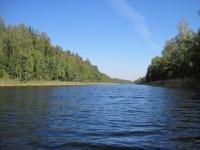 Река в пол километра в ширину