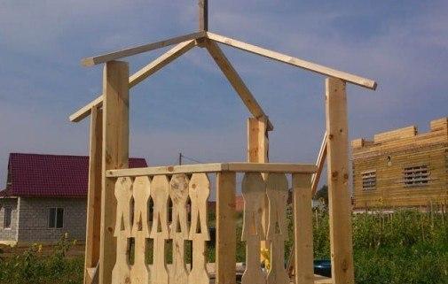 Как построить домик для ребенка своими руками. Фото инструкция