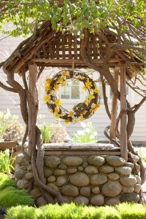 Сделай колодец украшением двора (Фото)