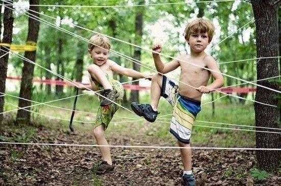 Игры для детей на даче в контакте с природой (+Фото)