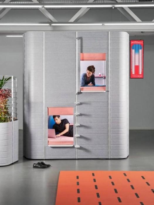 """В новых """"зеленых офисах"""" можно уютно поработать и даже поспать и поесть с офисной грядки (+Фото)"""