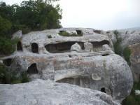 Эски-Кермен - один из крупных «пещерных городов» Крыма (+Фото)