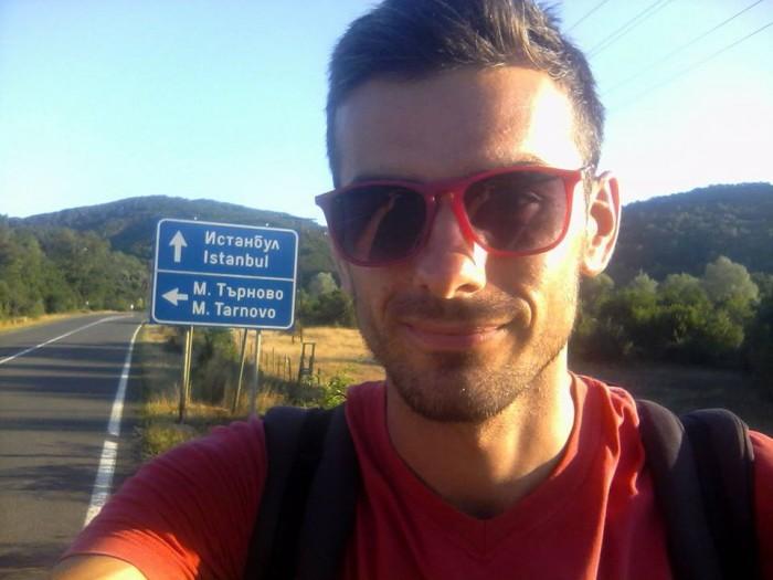 Молдаванин в одиночку, автостопом проехал вокруг всего Черного Моря за 21 день!