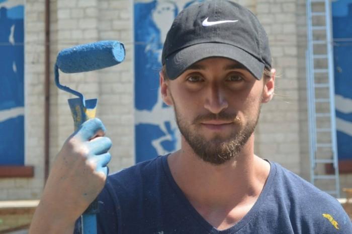 Образ царя Дакии Дечебала украшает одно из кишиневских зданий (Видео)