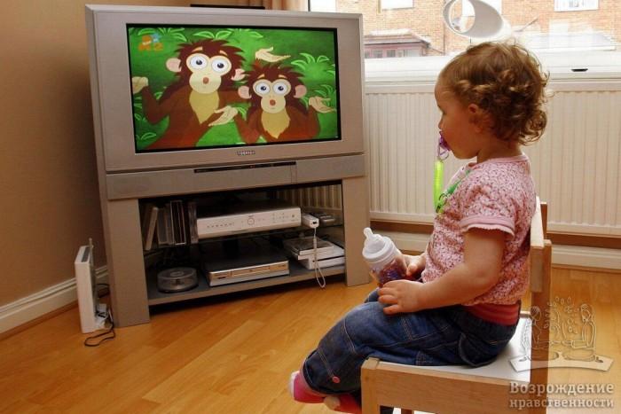 Негативное влияние современных СМИ на развитие детей
