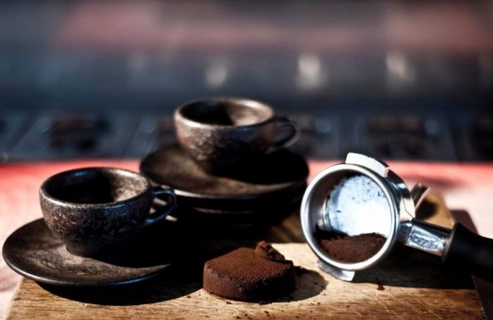 Экологическая посуда для кофе из кофейной гущи (+Фото)