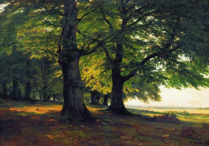 Картины Шишкина завораживают своим естеством и глубиной (Фото)