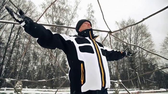 Михаил Задорнов - Идут белые снеги!... Жить и жить бы на свете... (Видео)