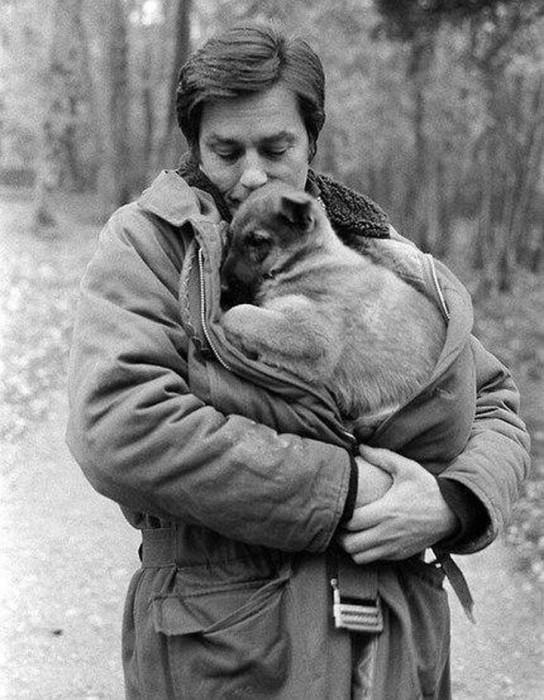 Невероятная любовь Ален Делона к животным!