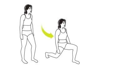 Упражнения для быстрого снижения веса. Людям, у которых, обычно, нет времени на тренировку