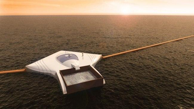 Необычайно простая система очистки океанов