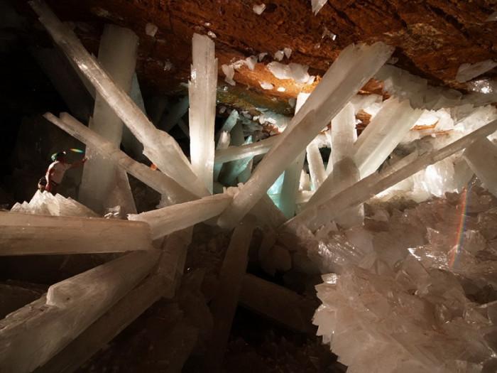Пещера гигантских кристаллов (+Видео)