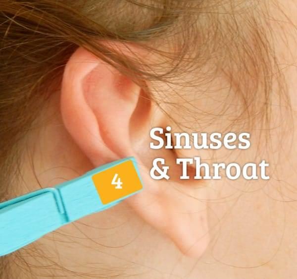 Прищепка на ухе помогает от множества болей!