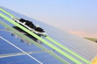 Как происходит чистка солнечных панелей? (Видео)