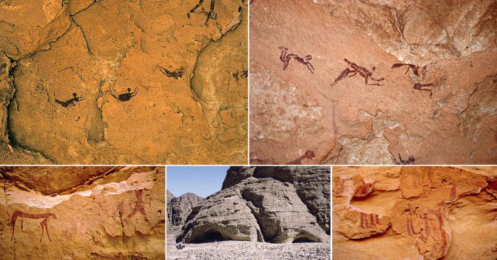 Пещера с наскальной письменностью эпохи неолита (+Фото)