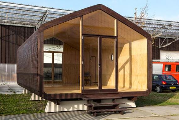 Картонный дом со сроком службы в 50 лет (+Фото)