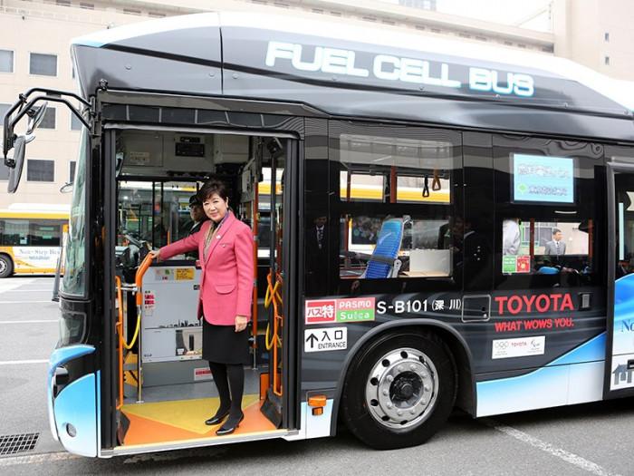 Автобус на водороде (+Фото)