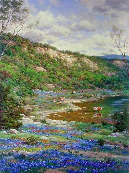 Картины самого известного американского пейзажиста (Фото)