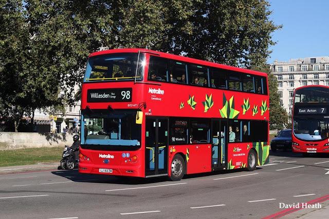 Лондон переводит все автобусы на электропривод (+Фото)