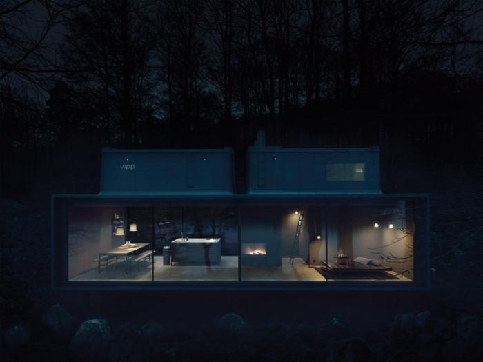 Домики в лесу для подзарядки жизненной энергией (Фото)