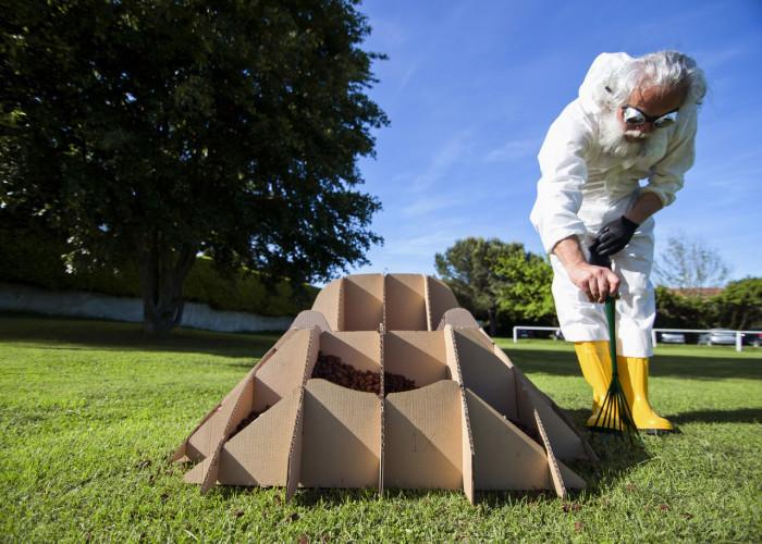 Как сделать земляное кресло? (Фото)