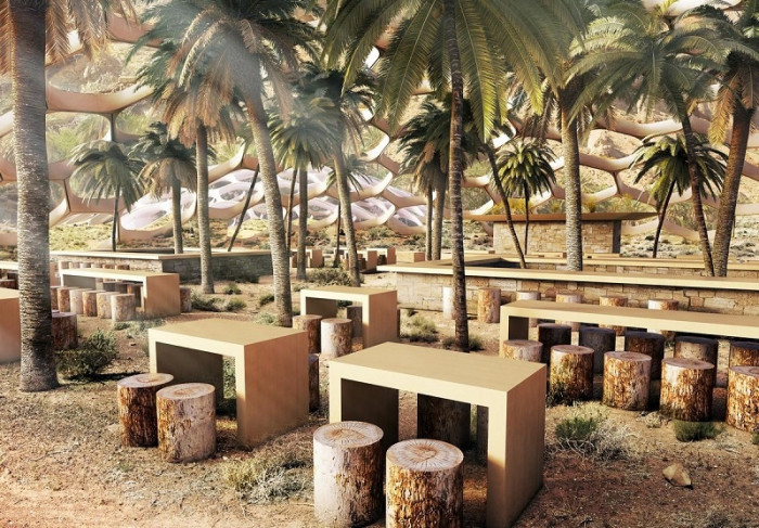 Самодостаточные Био купольные экодома встретят гостей в песках и оазисах (+Фото)
