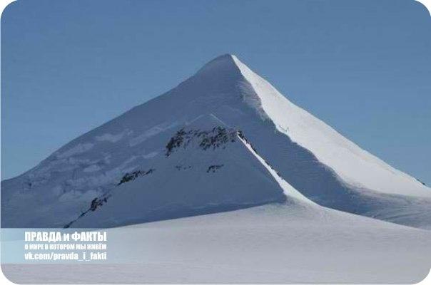Пирамиды древних цивилизаций обнаружены в Антарктиде (+Фото)