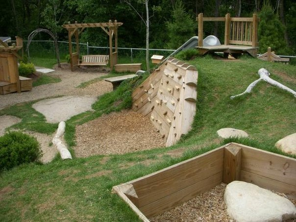 Отличные решения для детских площадок (Фото)