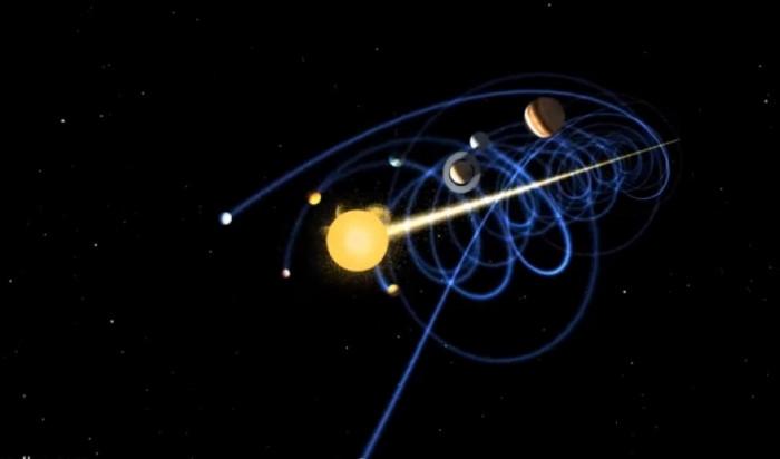 Завораживающие движение солнечной системы (Видео)