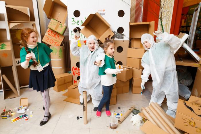 Насыщенная программа для детей на фестивале «Зеленый взгляд»!