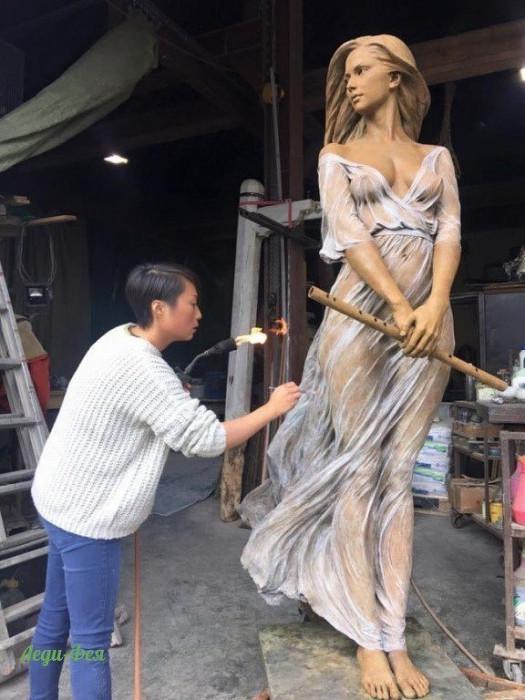 Посмотрите на эти прекрасные скульптуры. Кажется, они вот-вот оживут (Фото)
