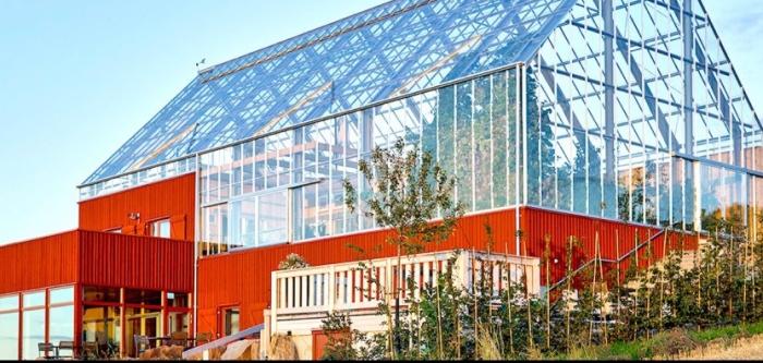 Дом-теплица признан в Швеции самым экологичным проектом (+Фото)