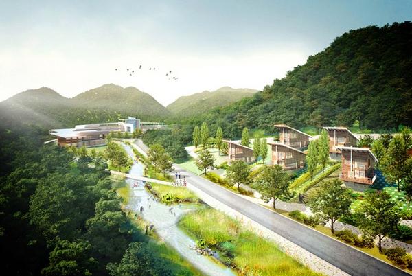 Центр научных исследований редких животных и растений в Южной Корее (+Фото)Центр научных исследований редких животных и растений в Южной Корее (+Фото)
