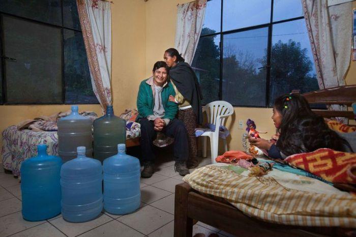 Семьи из разных уголков планеты показали, сколько воды они расходуют за 1 день (+Фото)