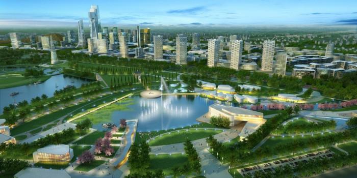 Будущее экопоселений в симбиозе - город и экопоселение