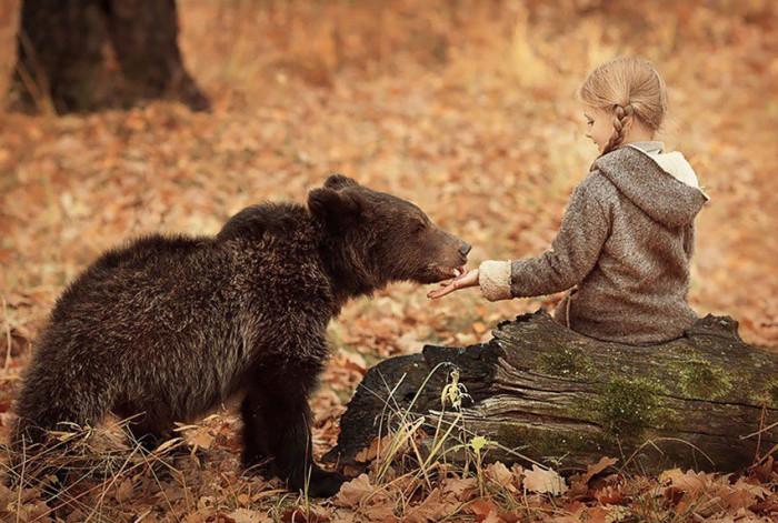 Природа - лучший воспитатель для детей (Фото)