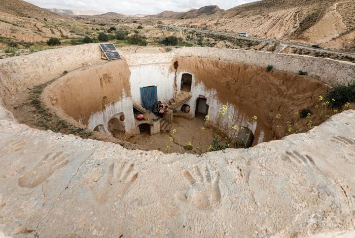 Подземная деревня (+Фото)