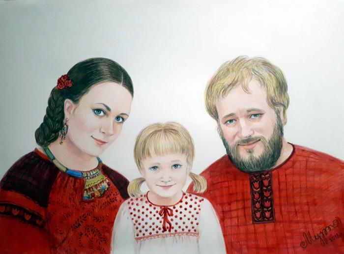 Творческая пара создает сказочную жизнь для своего ребенка