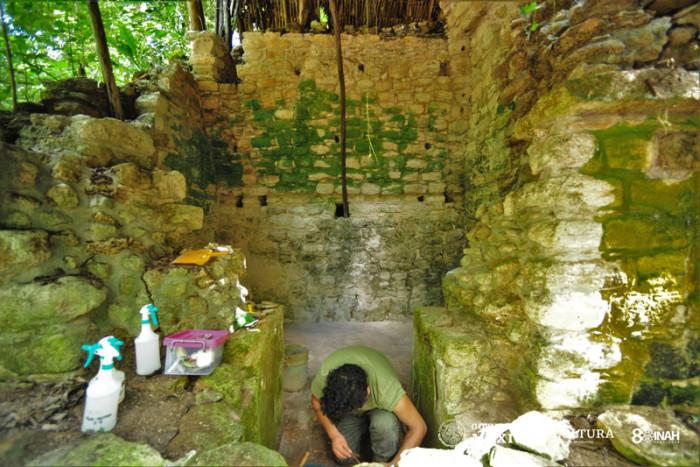 В Мексике обнаружили огромный дворец майя (+Фото)В Мексике обнаружили огромный дворец майя (+Фото)