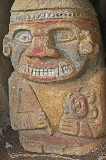 Загадочные статуи долины САН-АГУСТИН (Фото)