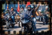 В Кишиневе прошел автопробег в честь Дня Победы (Видео)