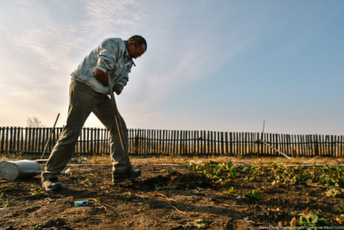 Фермер без обеих рук посадил 11 000 деревьев (Видео)