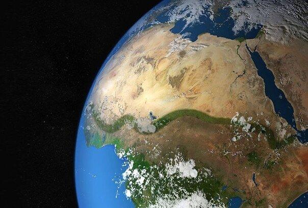 Великая зеленая стена в Африке