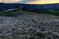 В Старом Оргееве земля покрыта мусором